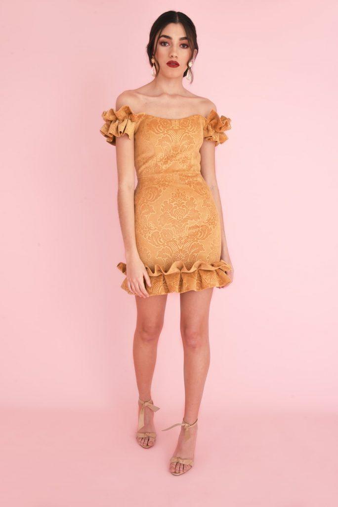 YELLOW MELLOW MINI DRESS