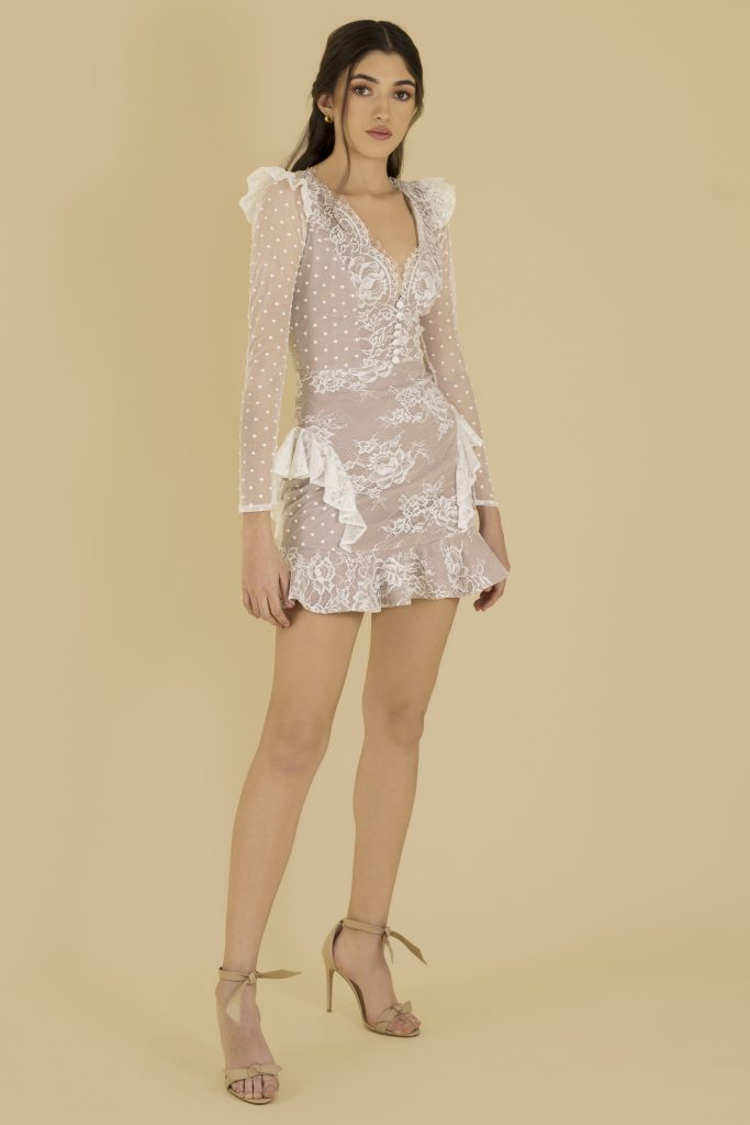 white lace dress front 2